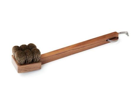badger hair body brush