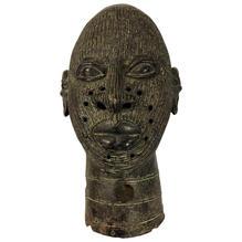 bronze Benin head