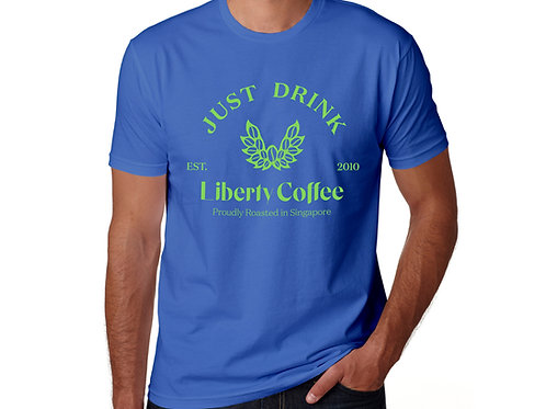 Just Drink Liberty Coffee T-Shirt