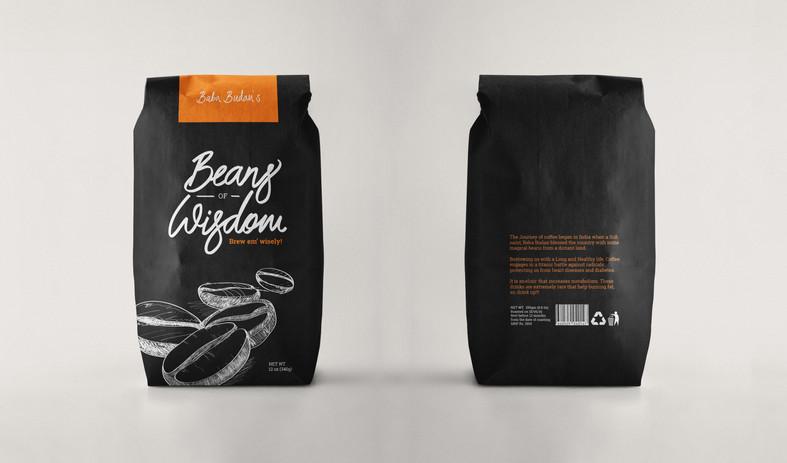 Packagin Design - Beans of wisdom