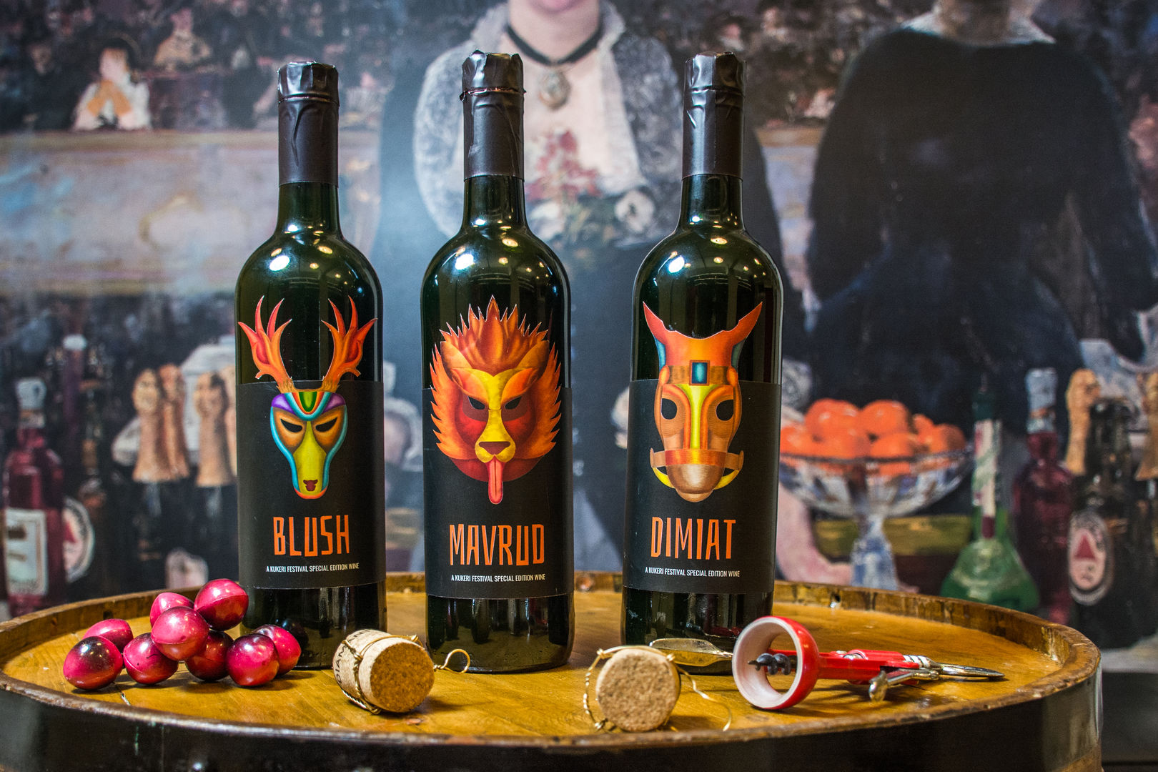 Bulgarain wines - Packaging design