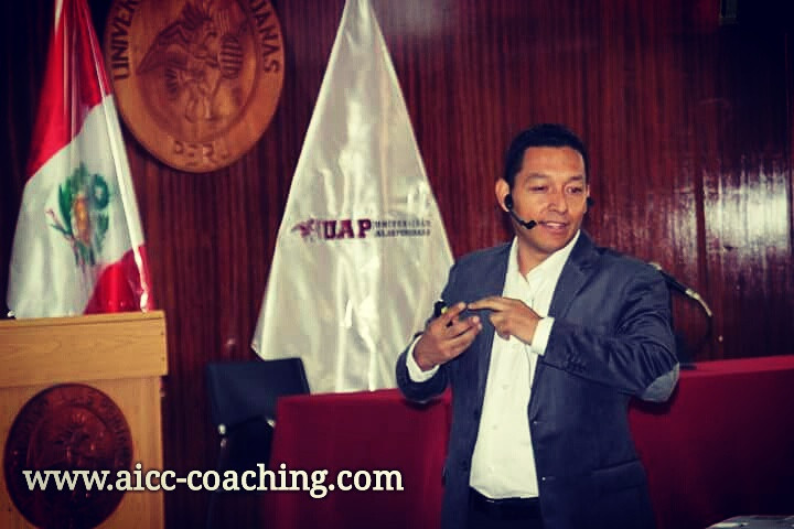 Coach Andrés Ricardo Benavides - Pte AICC COACHING
