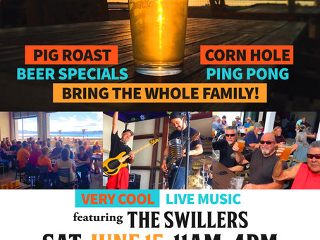 Join Us Father's Day Saturday for a PIG ROAST!