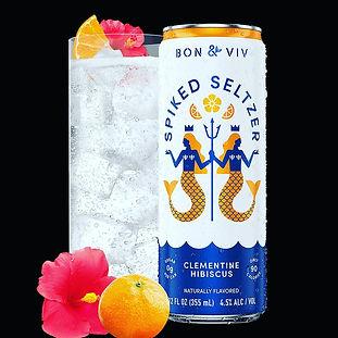 Bon Viv Spiked Seltzer clementine