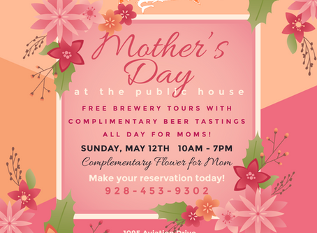 Bring your Mom and let's CELEBRATE HER!