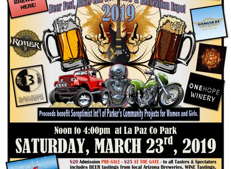 """Mudshark Brewery """"Beer Tasting"""" at Blues & Brews 2019"""
