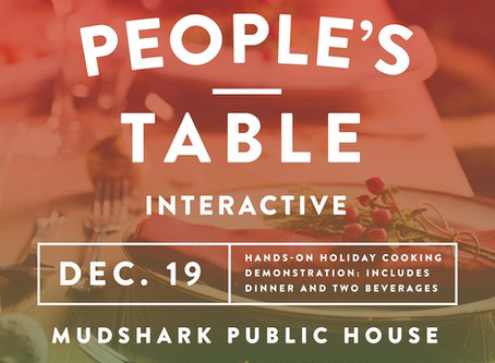 The People's Table - Dec 19th at the Public House!