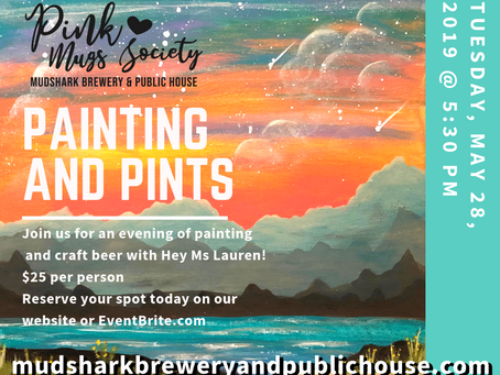 PMS Painting and Pints with Hey Ms Lauren!