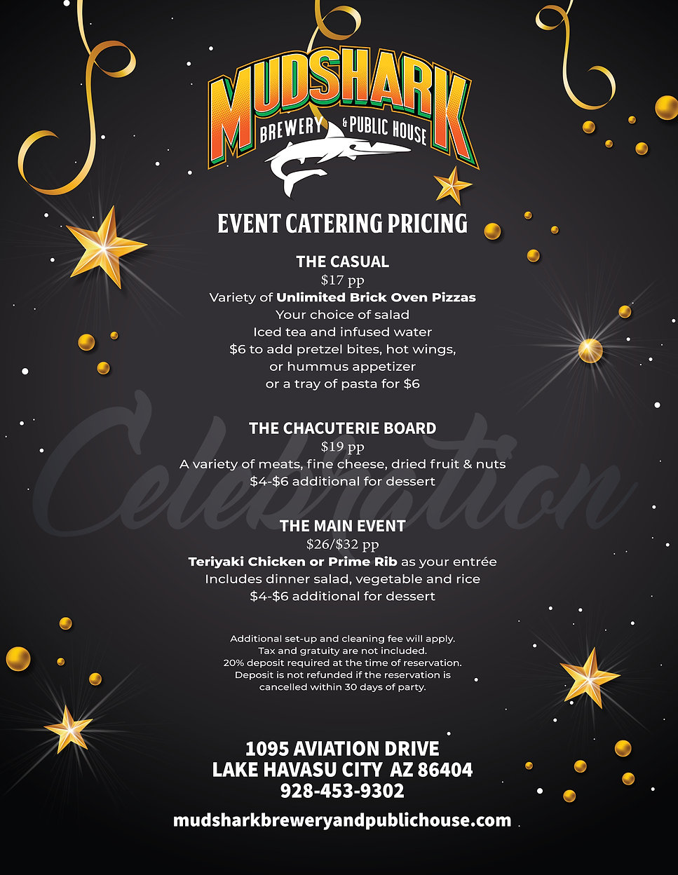 PH Holiday Event Catering Pricing 08.19f