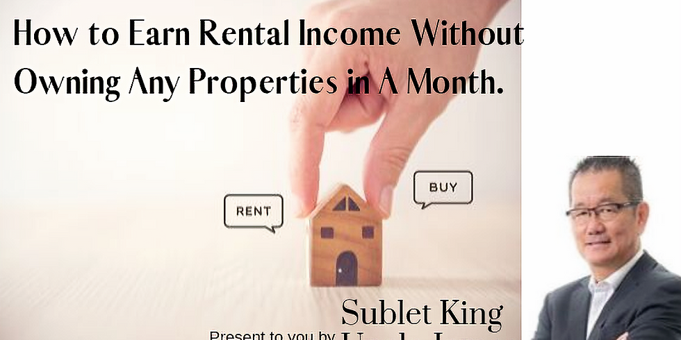 How to Earn Rental Income Without Owning Any Properties in A Month