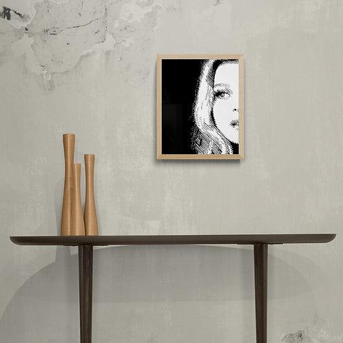 Amelia - Art Board Print