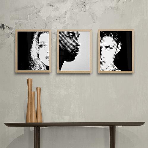 The Gemini Letters complete set - Art Board Prints