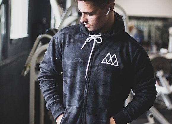 Multicam Zip up Sweatshirt **pre order**