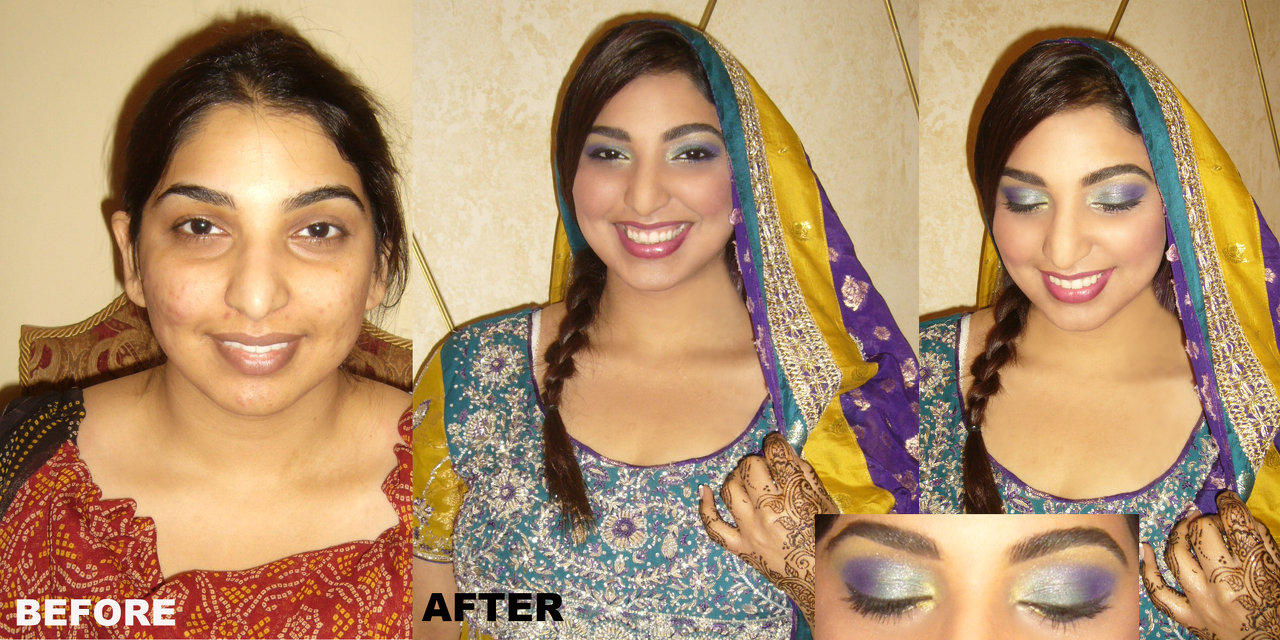 indian wedding makeup artist toronto