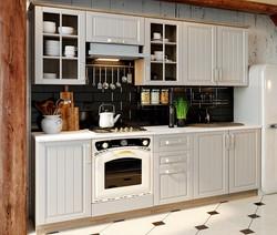 Кухонный гарнитур длиной - 240 см (Дуб С