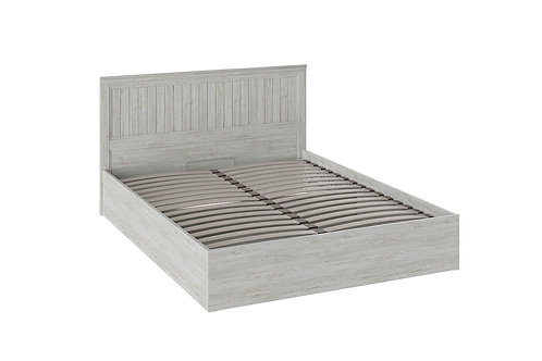 Двуспальная кровать «Кантри» с подъемным механизмом (Винтерберг)