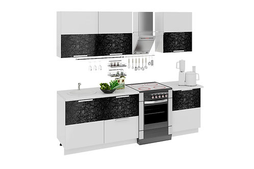 Кухонный гарнитур длиной - 240 см (ФЭНТЕЗИ (Лайнс))