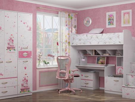 Оформление детской комнаты.