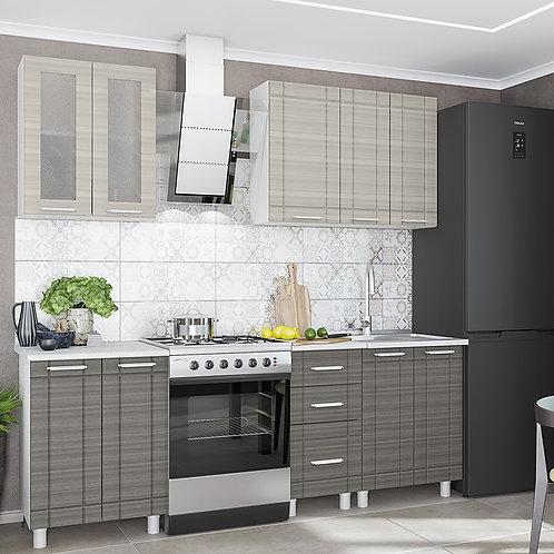 Комплект кухни 1,6 м Бомбей-евро