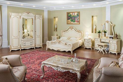 Спальня Мона Лиза, крем (комплект)