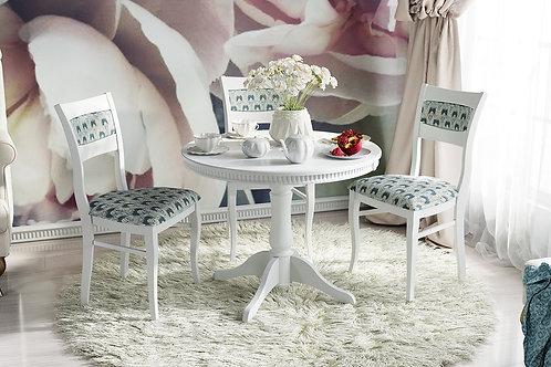 Стол обеденный «Орландо Т1» (Белый матовый)