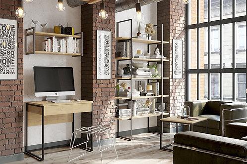 Набор мебели «Лофт» №1 (Черный/Бунратти)
