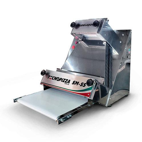 Modeladora de Pizza SM 55 -Aço Inox
