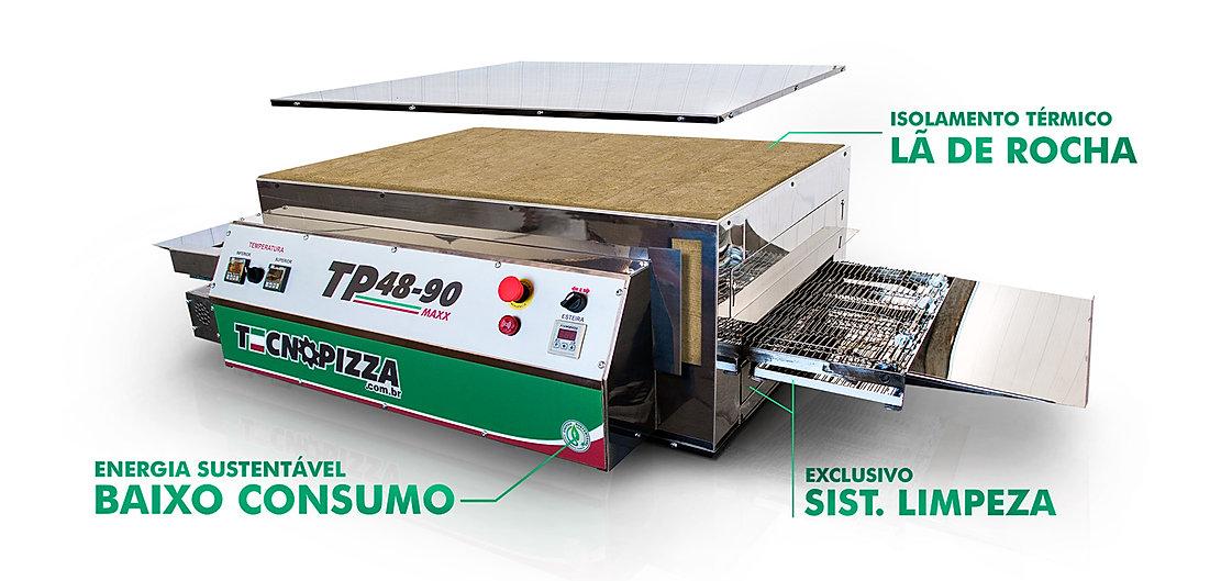 Forno-de-Esteira-para-pizza-TP-48-90-Max