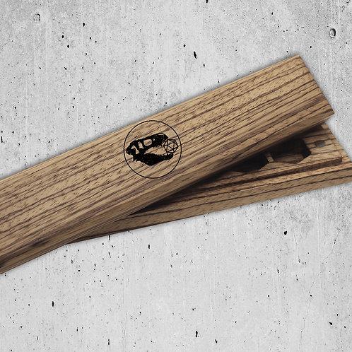 T-Rex Exclusive Zebra-wood Dice Vault