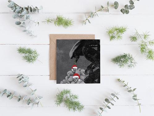 Alien - Christmas Card