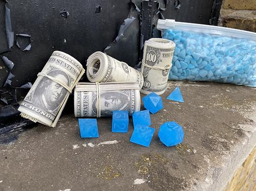 Crystal Blue Breaking Bad Dice
