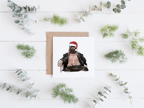 Thor - Pull my Cracker - Christmas Card