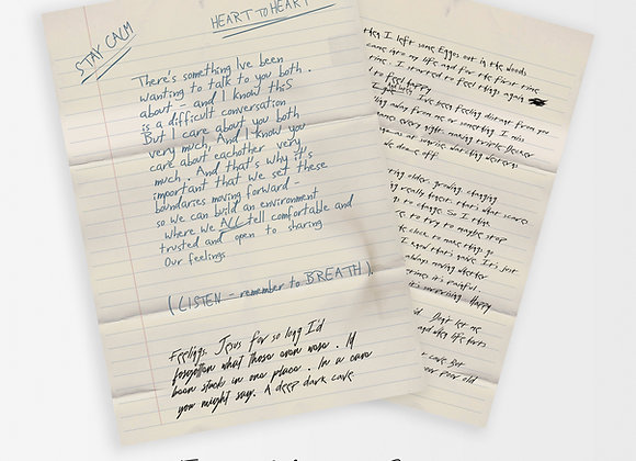 Hoppers' Letter to Eleven : Stranger Things