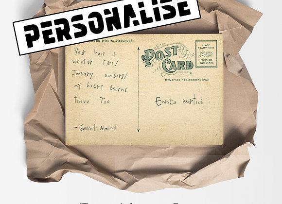 IT Postcard : Personalised