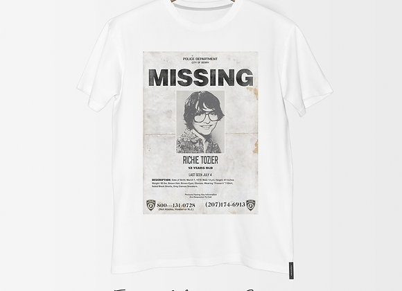 Richie Tozier Missing Poster Tee