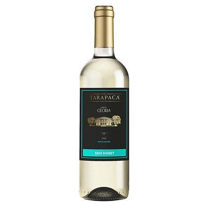 Вино Tarapaca Santa Cecilia White Blend біле напівсолодке