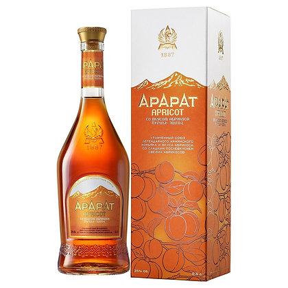 Бренді ARARAT Apricot 6 років 0.5L 350% в коробці