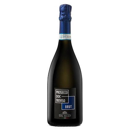 Вино ігристе Dal Bello Prosecco Brut Treviso біле брют