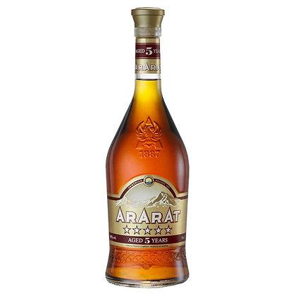Бренді ARARAT 5* 1L 40%
