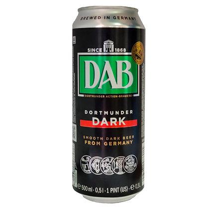 Пиво DAB Dortmunder Dark темне фільтроване 0.5L 4.9%