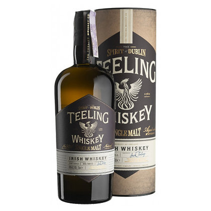 Віскі Teeling Whiskey Single Malt 0.7L 46% в тубусі
