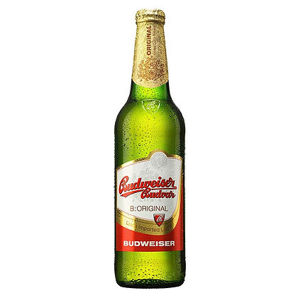 Пиво Budweiser Budvar Original світле фільтроване 0.33L 5%