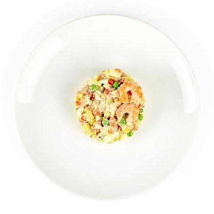 Салат Олів'є з креветками 200г