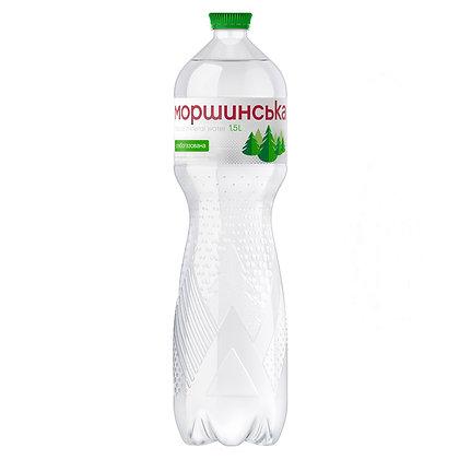 Вода мінеральна Моршинська слабогазована 1,5L