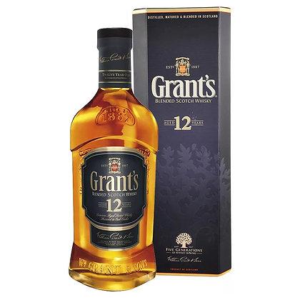 Віскі Grant's Aged 12 Years 0.75L 40% в коробці