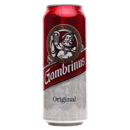 Пиво Gambrinus Original світле фільтроване 0.5L 4.3%