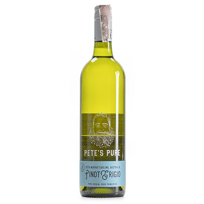 Вино Pete's Pure Pinot Grigio біле сухе