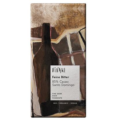 Шоколад чорний органічний Vivani 85% 100г