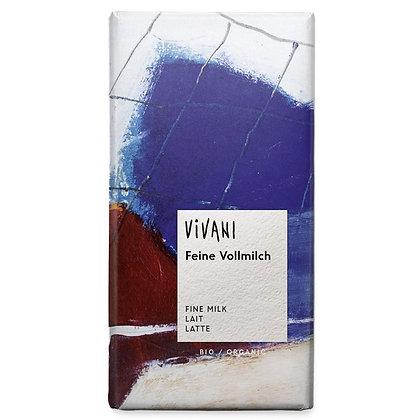 Шоколад молочний органічний Vivani 33% 100г