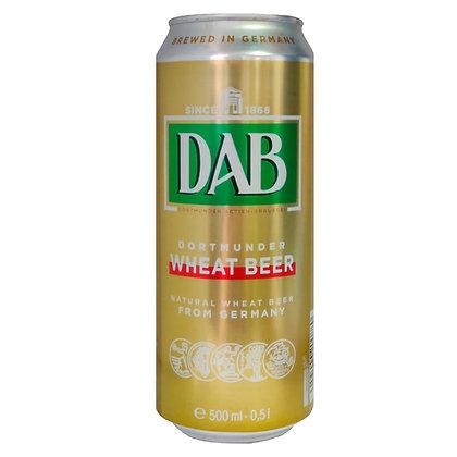 Пиво DAB Wheat Beer світле нефільтроване 0.5L 4.8%